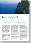Beyond the wall | China reveals its hidden tourism potential | Deloitte Country Snapshot