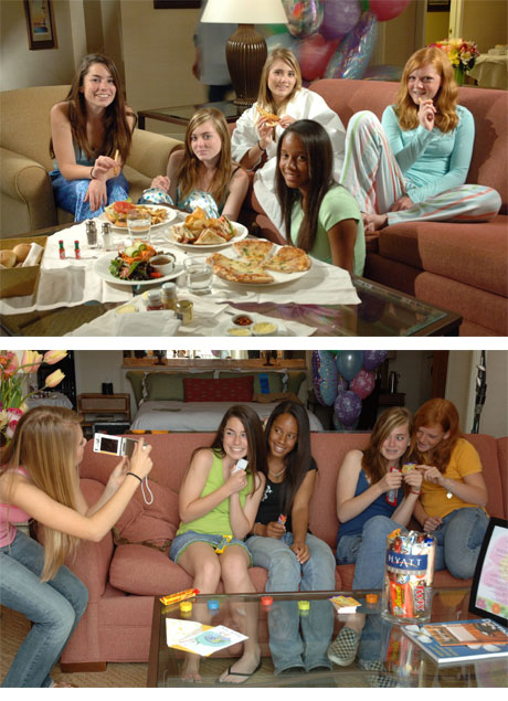 Party slumber teen idea