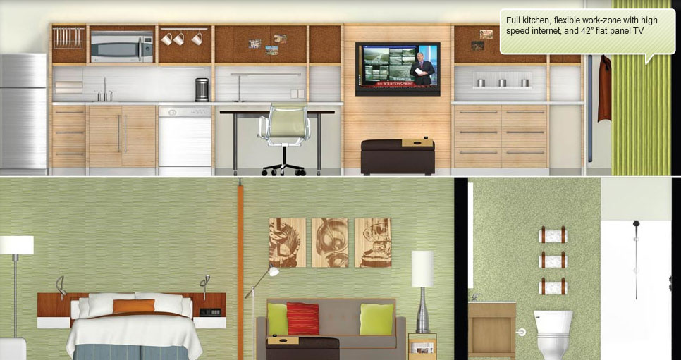 Home2 suites by hilton outlines more design and for Home two suites