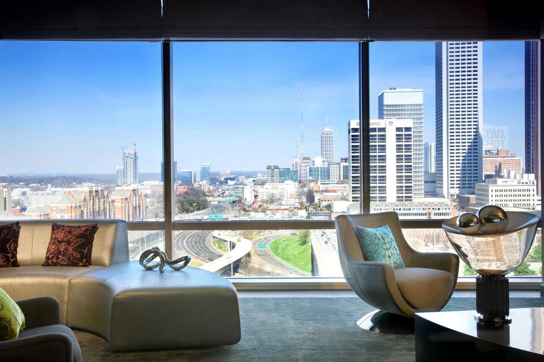 Atlanta Views At The New W Downtown
