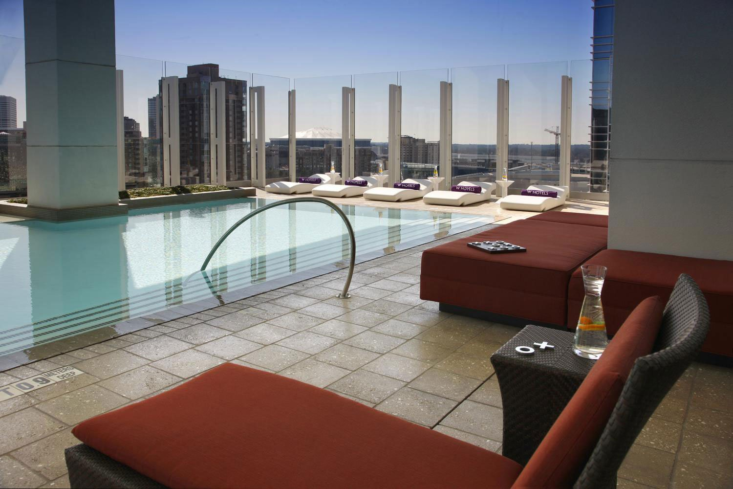Hotels Unveils ... W Hotel Atlanta Rooftop Pool