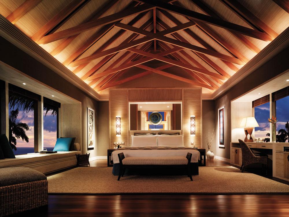 Shangri la s villingili resort and spa maldives opens in for 3 bhk villa interior design