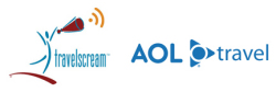 Travelscream and AOL Travel
