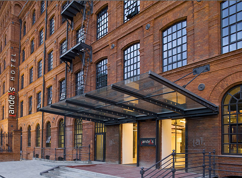 revitalised industrial architecture becomes design hotel