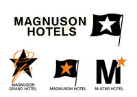 Magnuson Hotels all logos