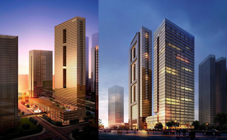 Tower Foyer Hilton Hotel : Hangzhou dicara golden tower hilton hotel m