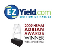 EZYield.com Wins Silver Adrian Award for Newly Redesigned Website