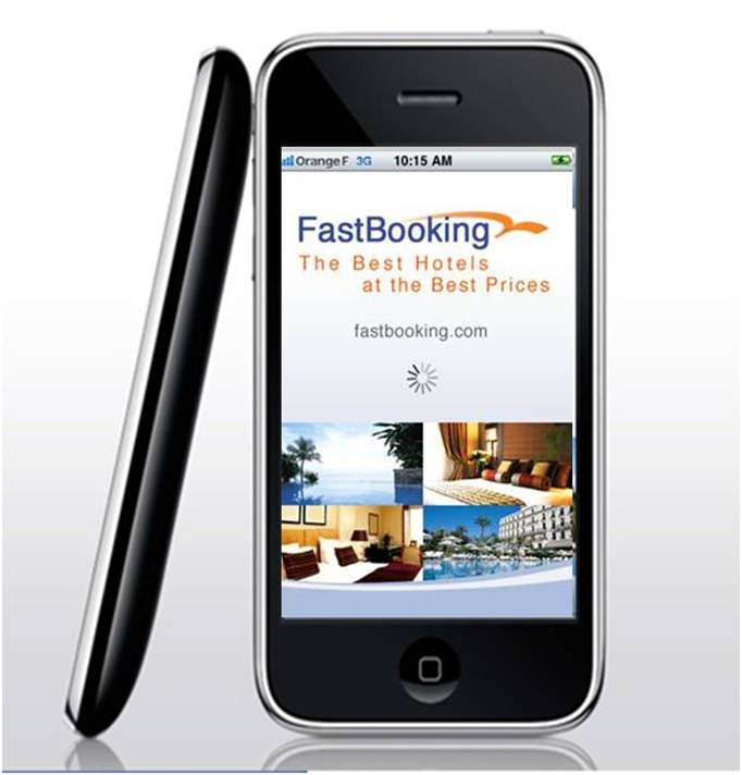 FastBooking com iPhone application available for free