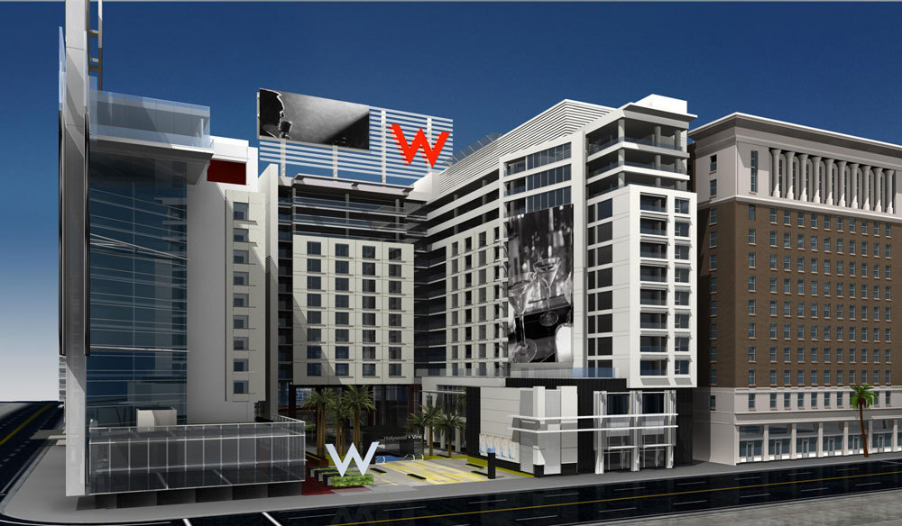 W Hotels Worldwide Debuts Global Flagship Hollywood Hotel Residences