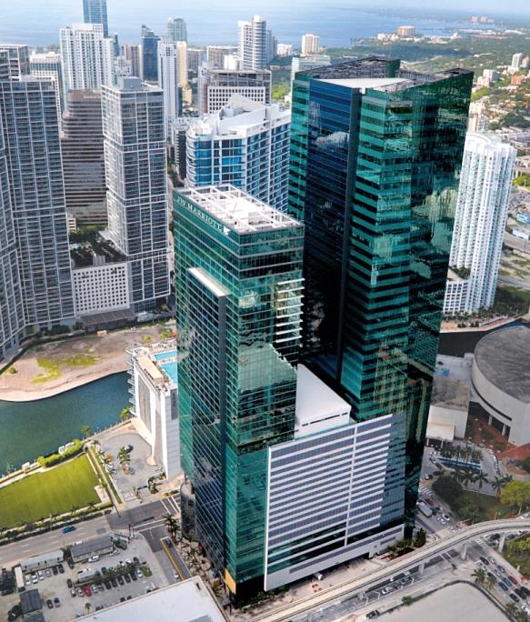 Stunning Jw Marriott Marquis Miami Redefines Luxury In Downtown Miami