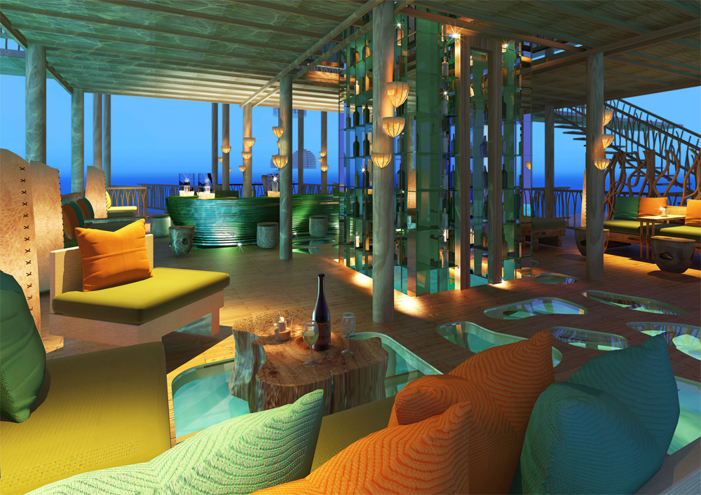 ... Bar At The Six Senses Laamu, In The Maldives | Opens In April 2011