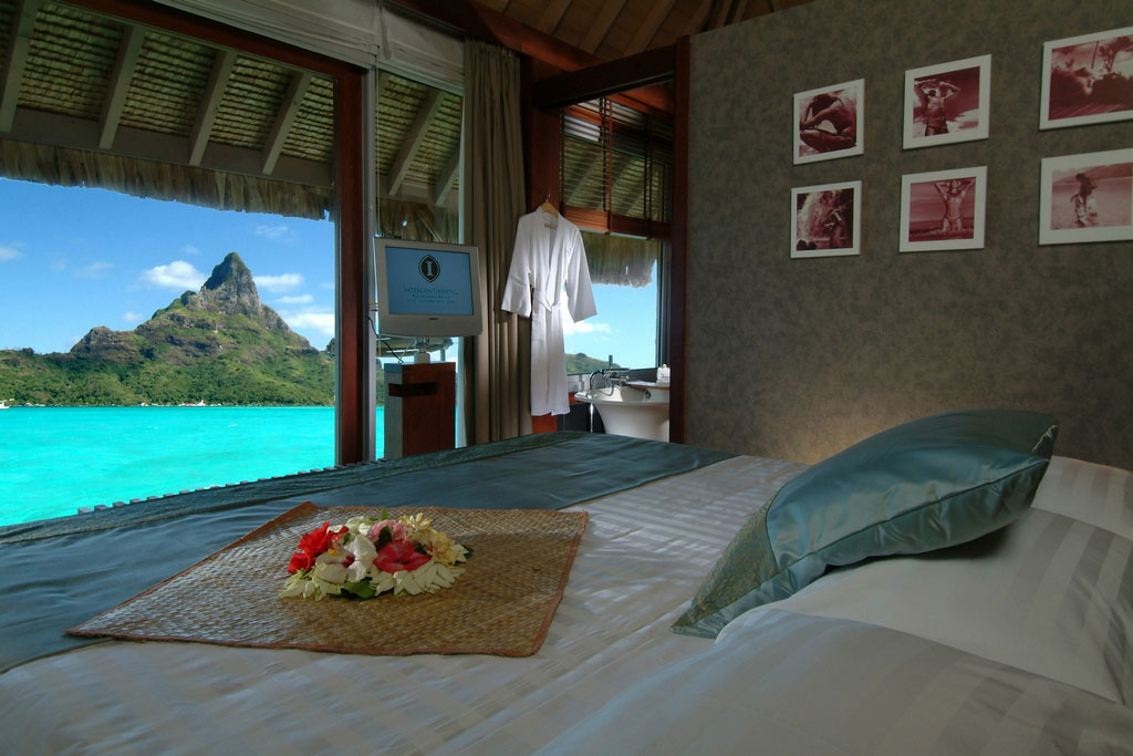 Intercontinental thalasso bora bora thalasso spa voted for What is a french bed in a hotel