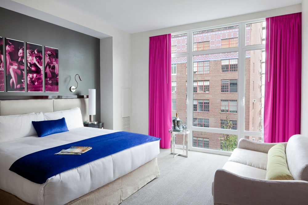 Gansevoort hotel group unveils the ultimate urban resort for City themed bedroom accessories