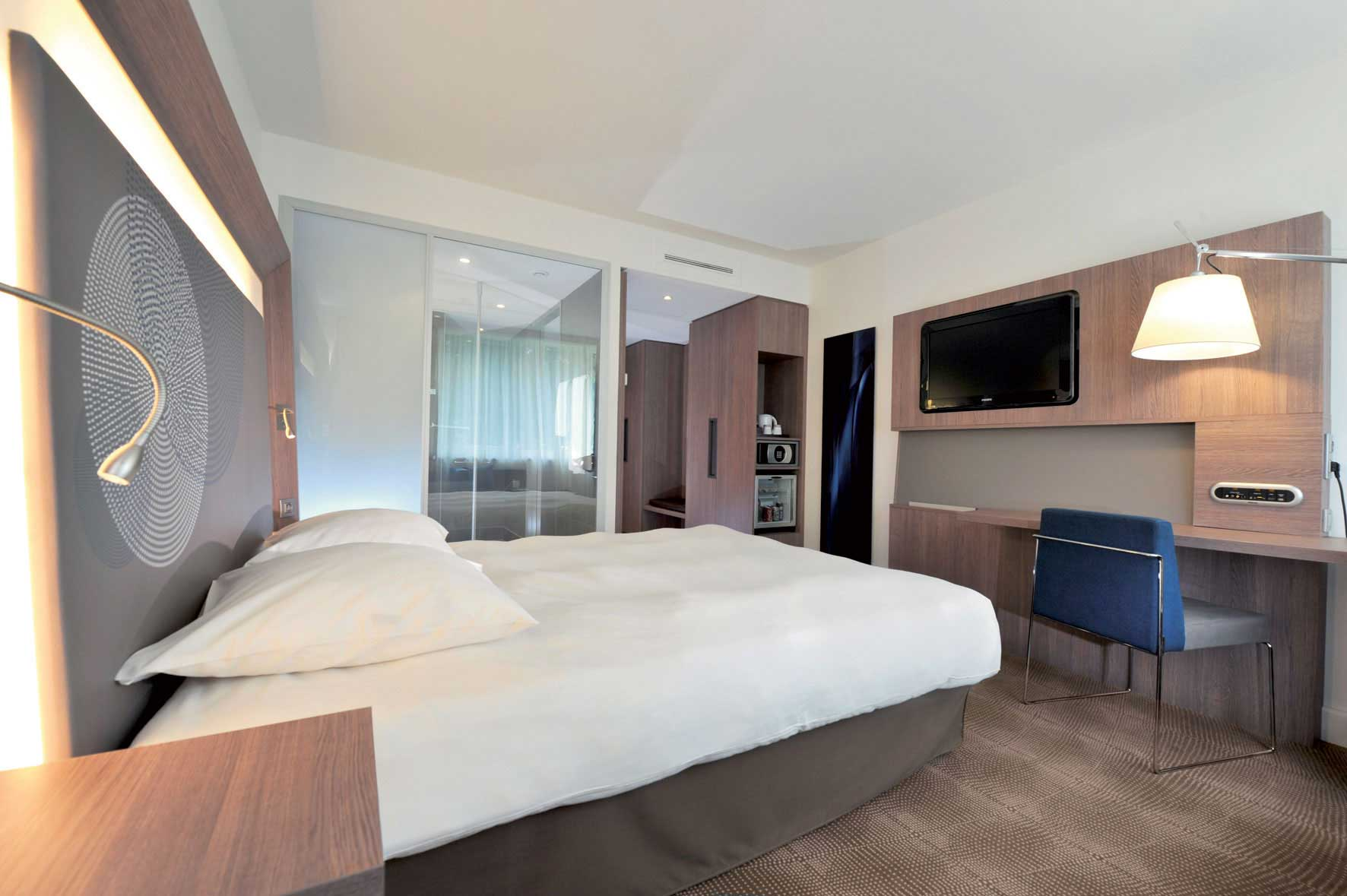 Novotel unveils its innovative guest rooms with novotel for Chambre d hotel normandie