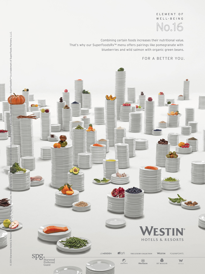 Westin Redefines Traditional Hotel Advertising With Innovative 30