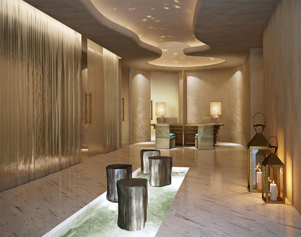 Six senses spa opens at hotel missoni kuwait for Hotel spa design