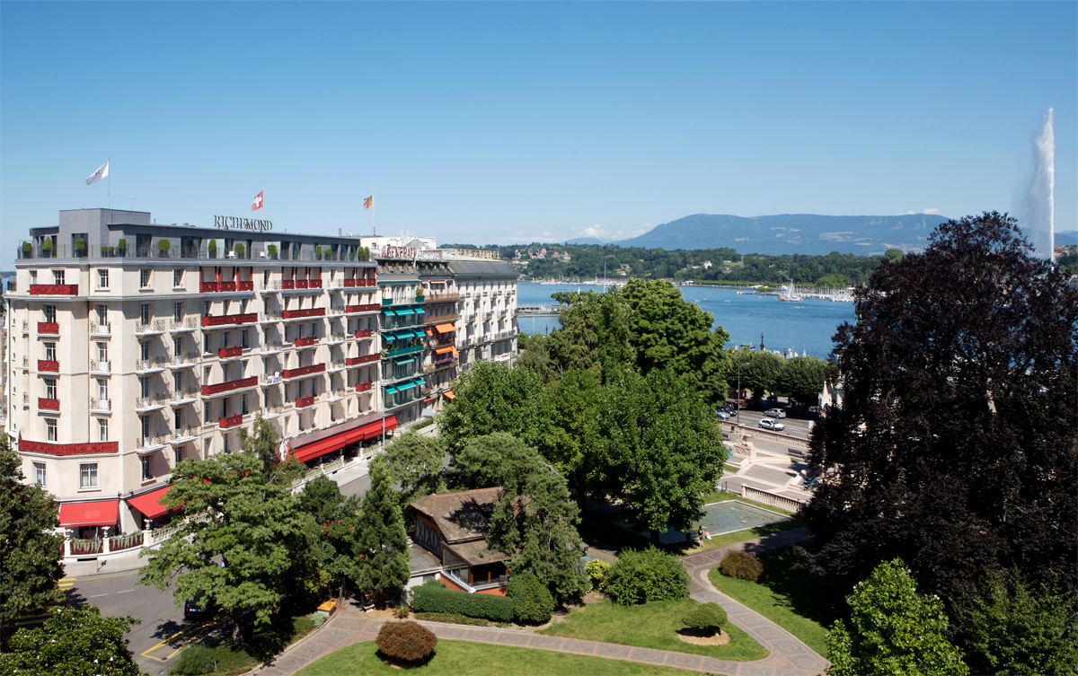 geneva s le richemond hotel joins dorchester collection