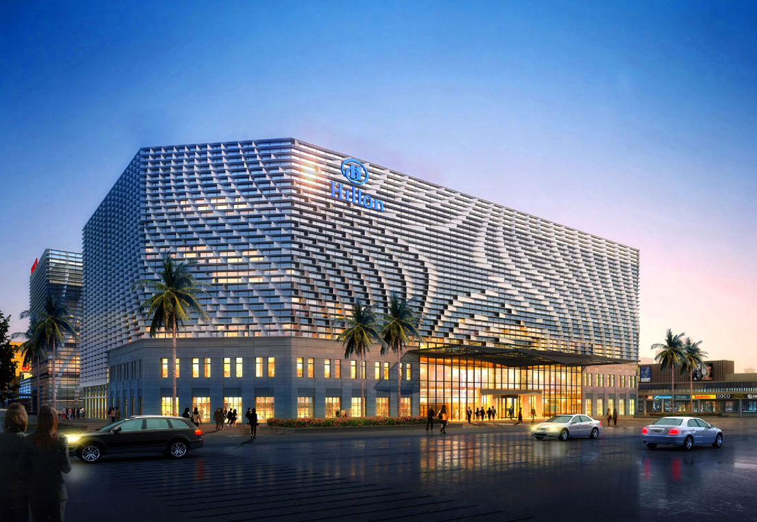 hilton hotels amp resorts opens second hotel in guangzhou