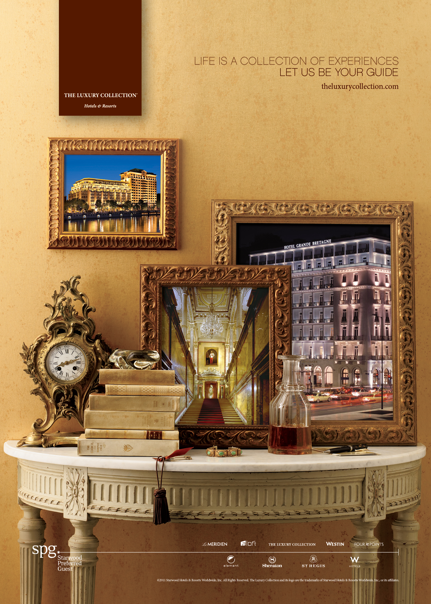 Framing Itself As The Destination Authority The Luxury Collection