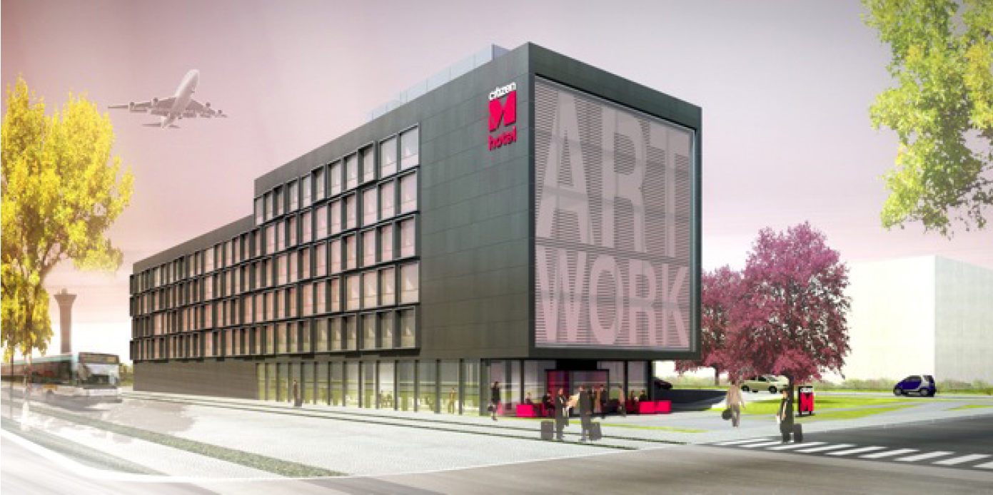 A roports de paris and citizenm announce new hotel project for Hotel design paris 6