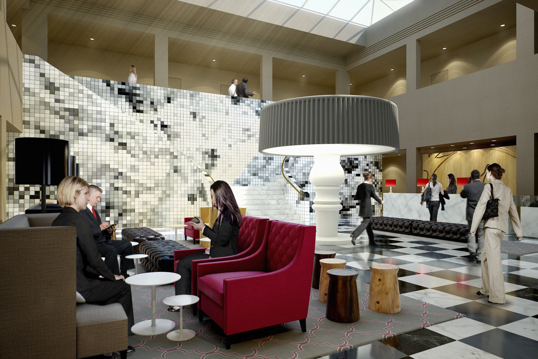 Swiss tel hotels resorts hospitality net for Design hotel dresden