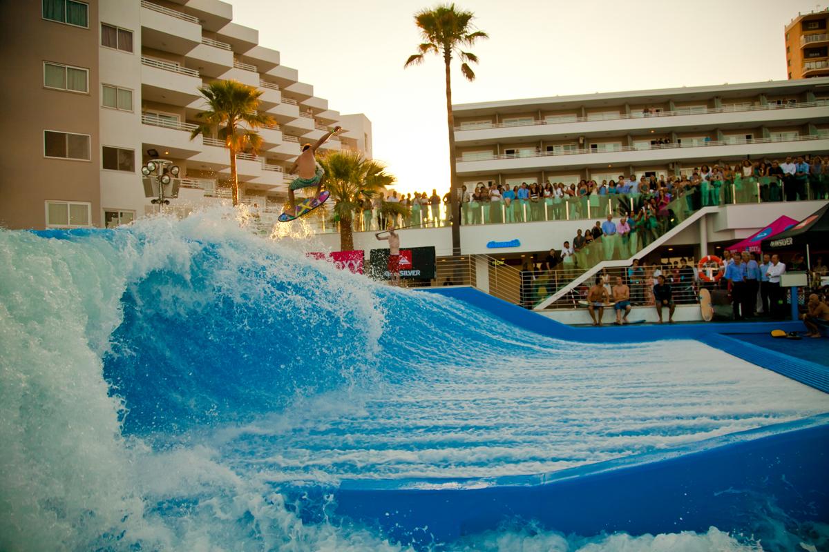 Inauguration Of The Wave House Mallorca