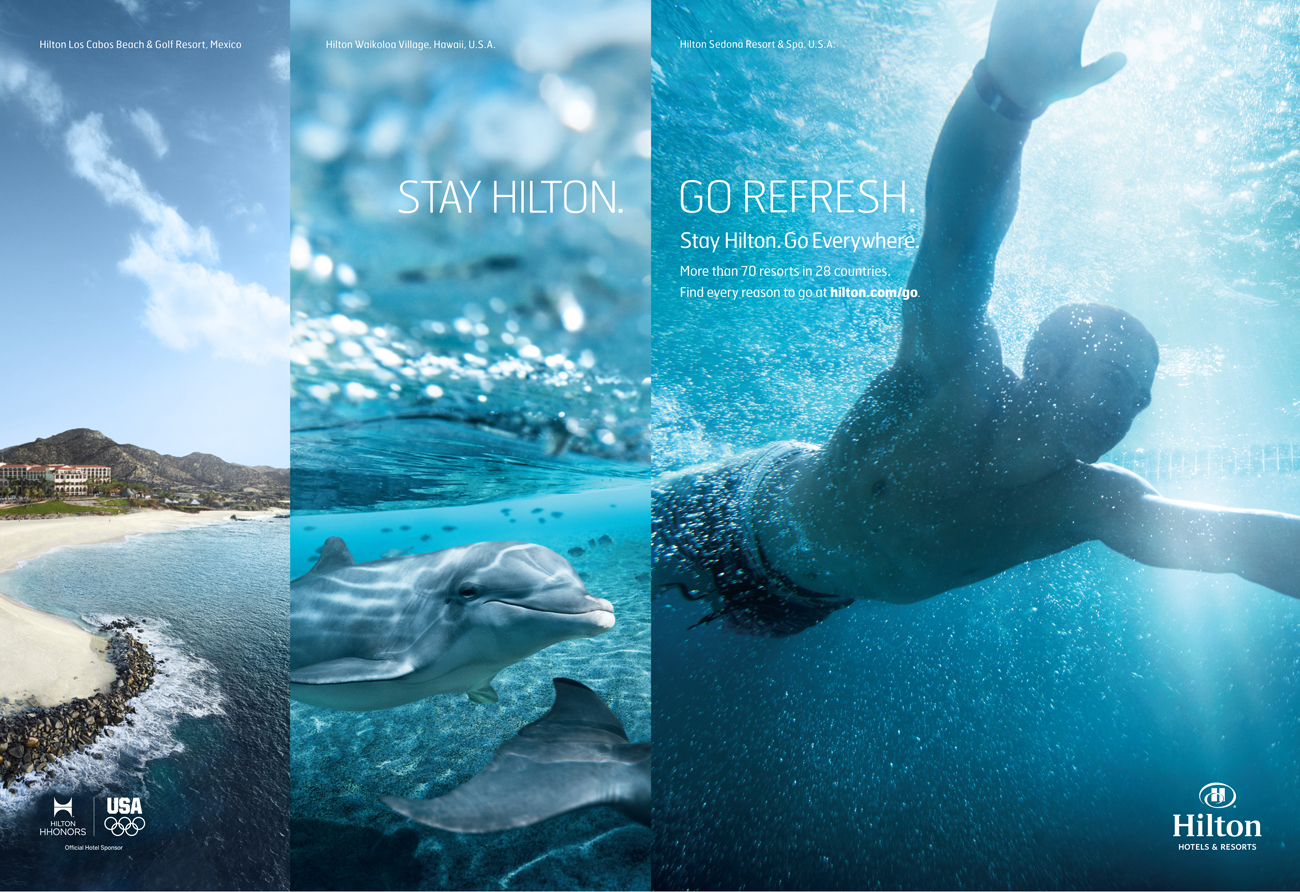 New Advertising Campaign From Hilton Hotels Amp Resorts