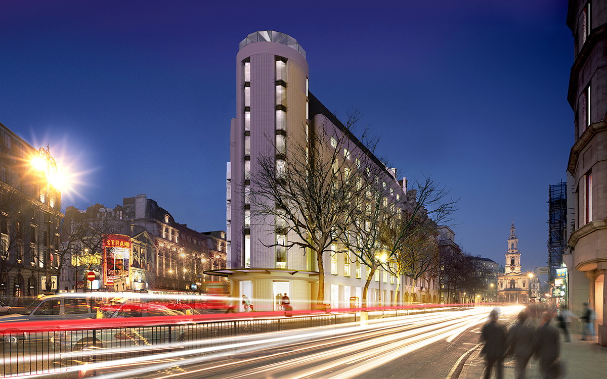 Me london the flagship project of meli hotels for Designhotel london