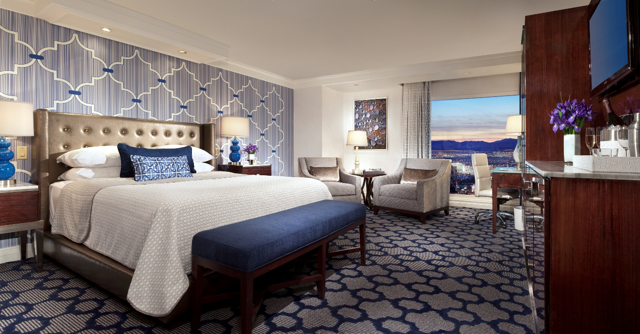 Bellagio begins room and suite remodel in resort 39 s spa tower for Guest suite