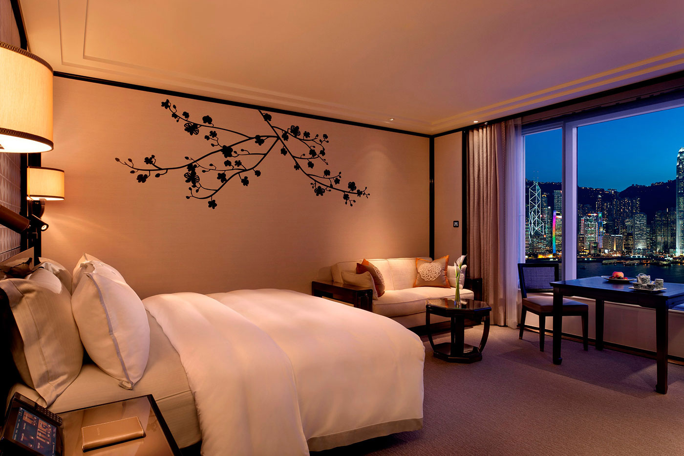 Newly Designed Guestroom At The Peninsula Hong Kong