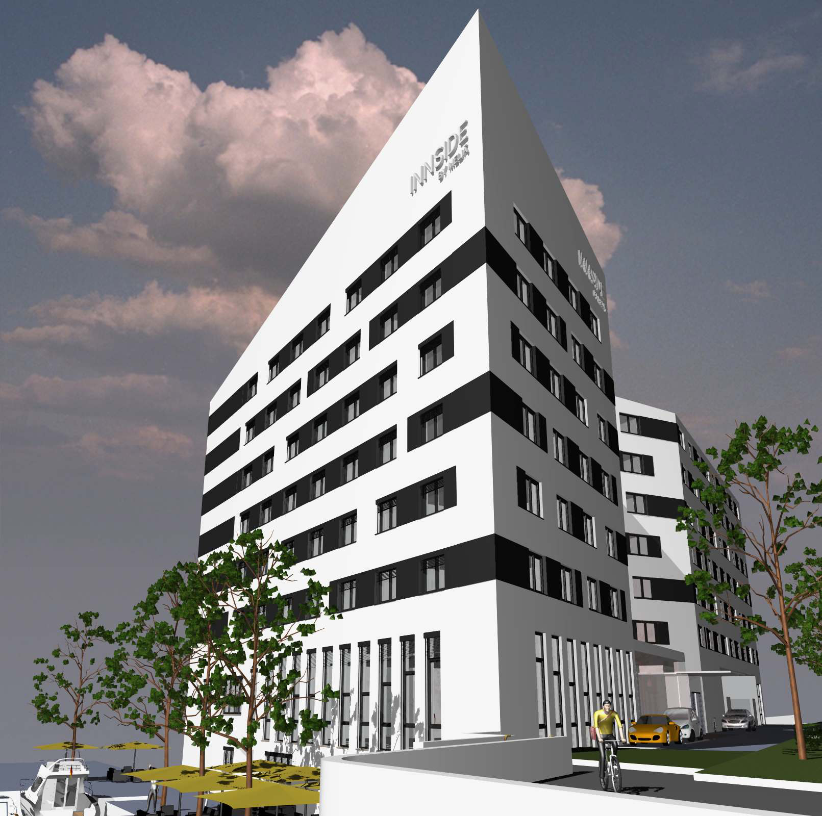 Meli signs lease for wgf ag hotel development in hamburg for Melia hotel