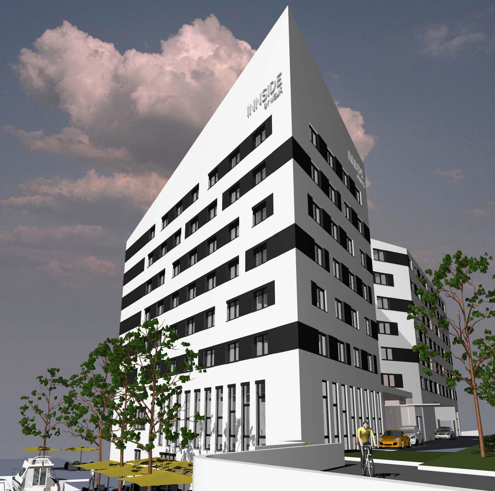 Meli signs lease for wgf ag hotel development in hamburg for Hotel innside