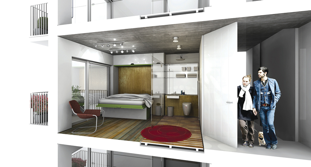 Bd reveals 12 innovative hotel room designs of the future for Small house design for bangladesh