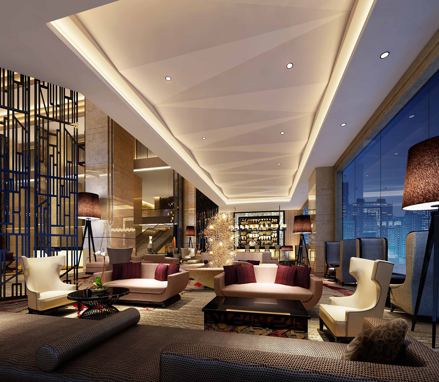 Hilton hotels resorts opens hotel in zhongshan china for Equipement hotel