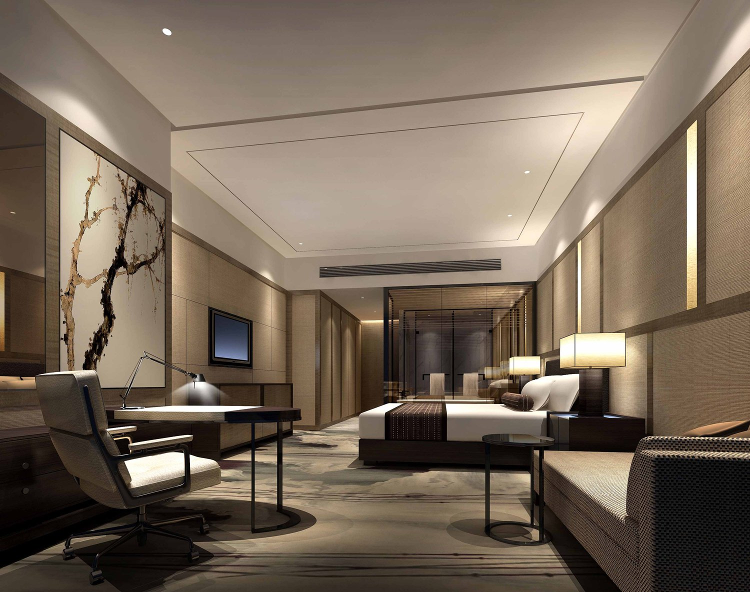 Hilton hotels resorts opens hotel in zhongshan china for Ideal hotel design 75014