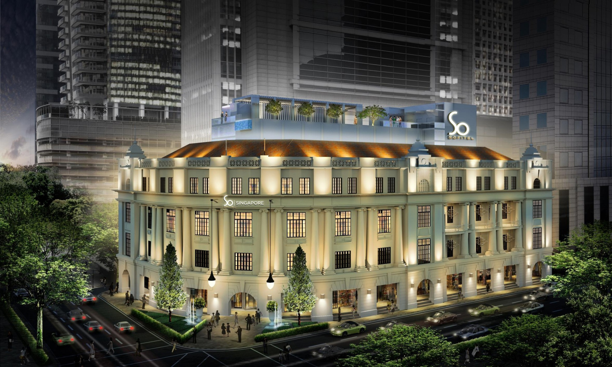 Sofitel luxury hotels commissions karl lagerfeld to design for Luxury hotel accommodation
