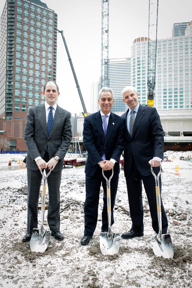 Loews Hotels Resorts And Drw Trading Group Hold Ceremonial Groundbreaking For Chicago Hotel