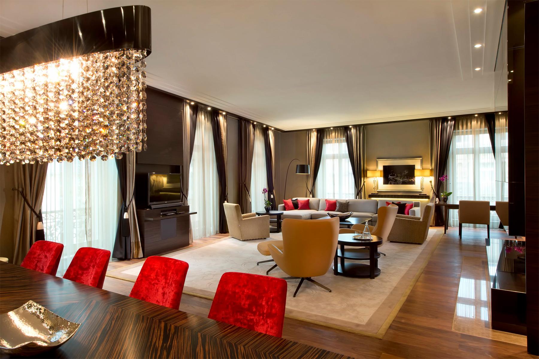 new presidential suite at the steigenberger frankfurter hof frankfurt germany. Black Bedroom Furniture Sets. Home Design Ideas