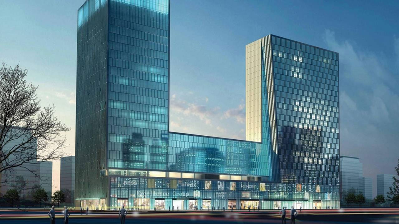 Preview four seasons hotel shenzhen set to open in china for Modern hotel