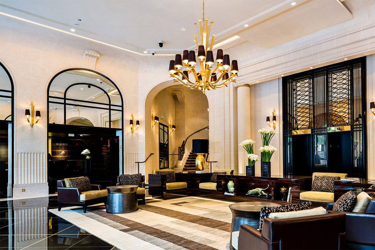 Starwood hotels resorts reopens an art deco icon prince for Top design hotels in paris