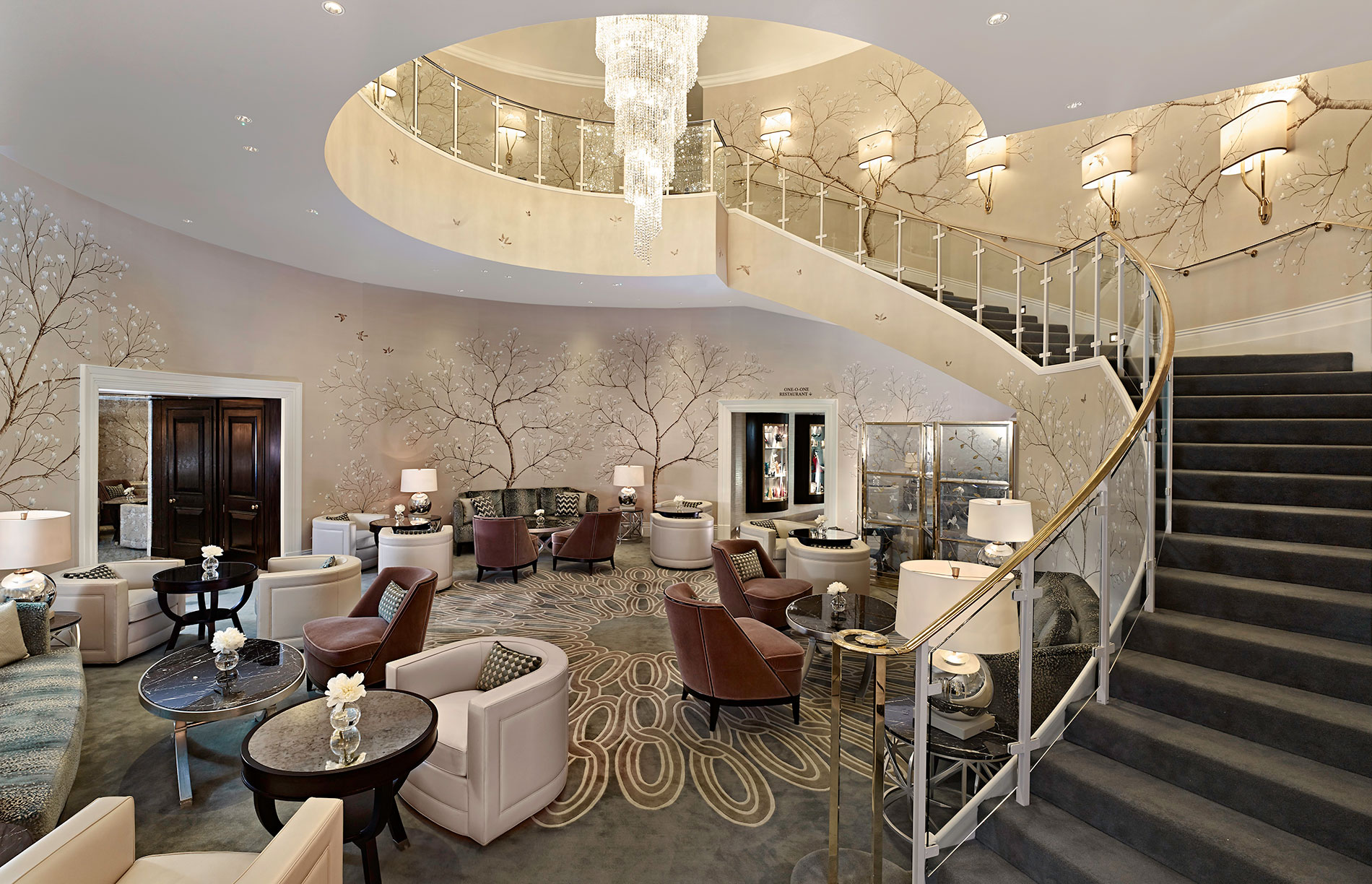 The Luxury Collection Hotels Resorts Unveils Refurbished Public Areas Of Park Tower Knightsbridge In London