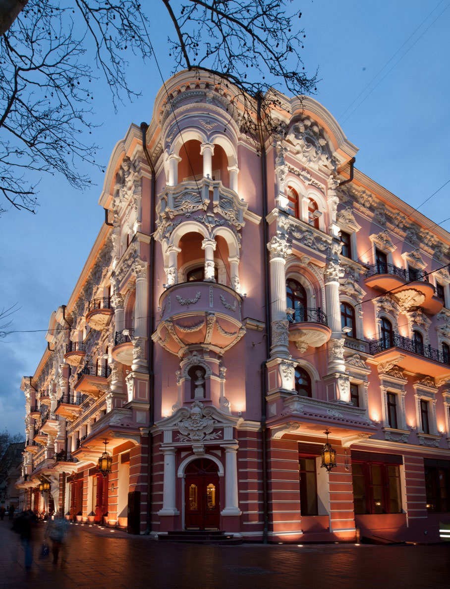 The Luxury Collection Hotels Resorts Debuts In Ukraine With Hotel Bristol A Odessa