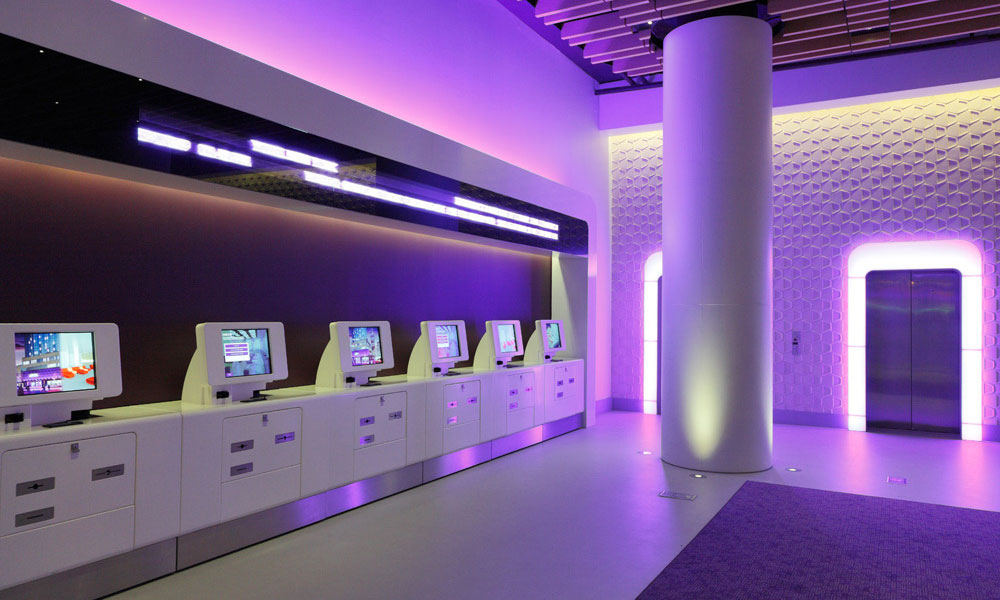 Yotel limited hospitality net for Luxury extended stay hotels nyc