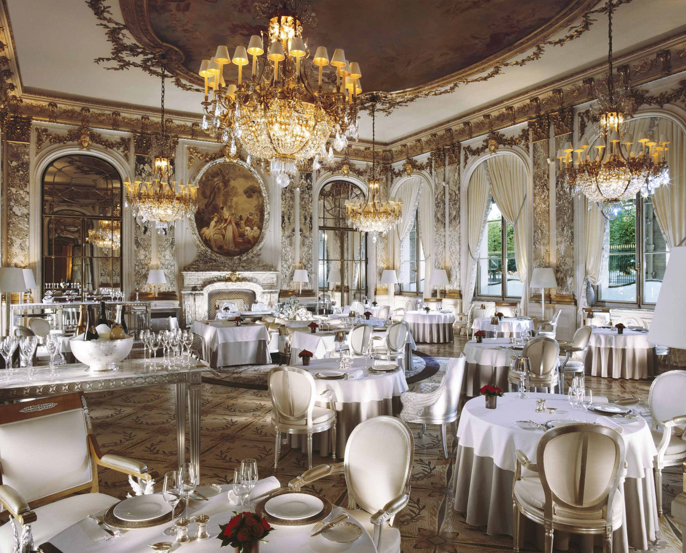 Le meurice announces the arrival of alain ducasse in for M dining room frankfurt