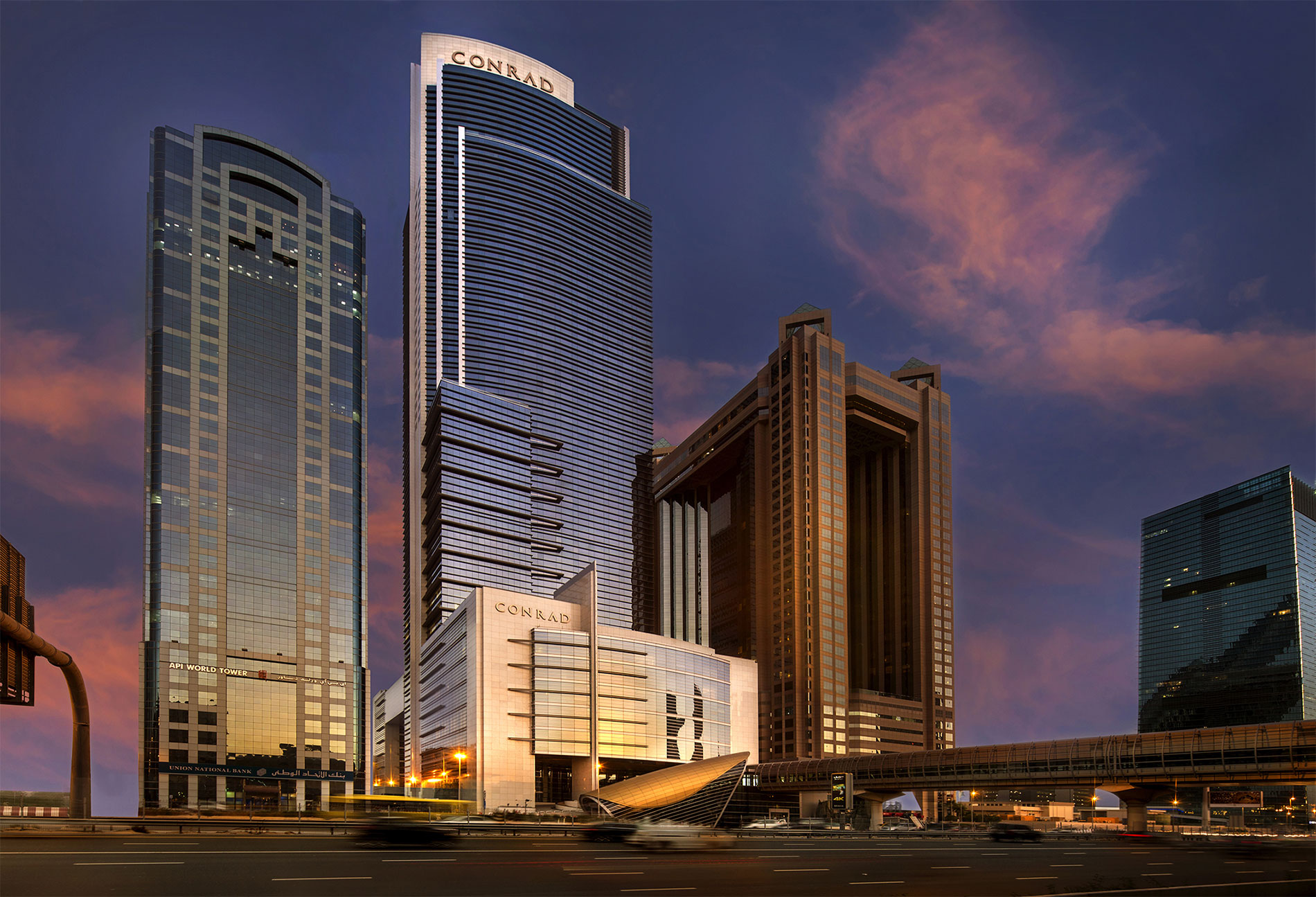 Conrad hotels resorts debuts in united arab emirates for Hotels in uae