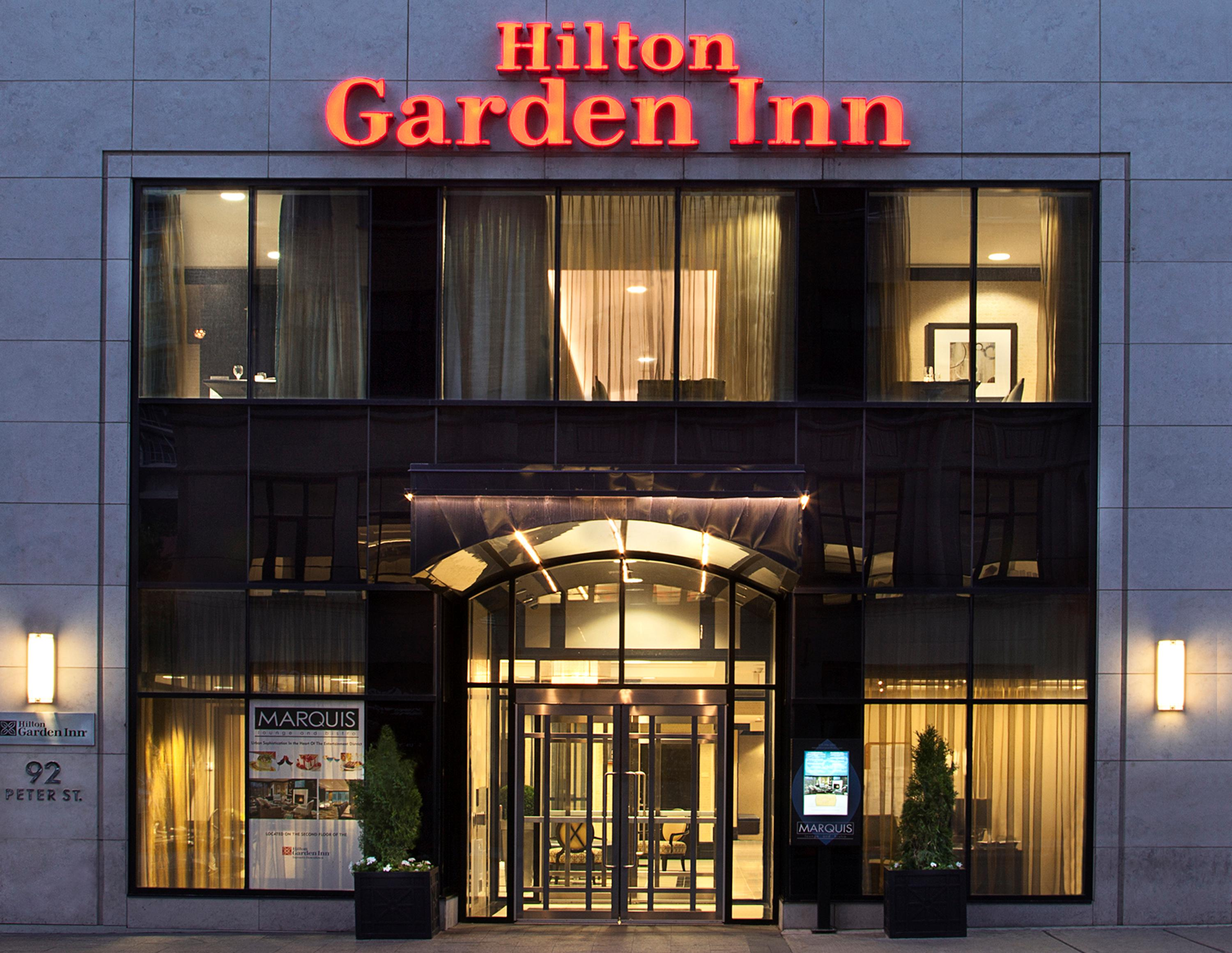 Hilton Garden Inn Toronto Downtown Hotel Celebrates Toronto Marlies Olympic Partnership