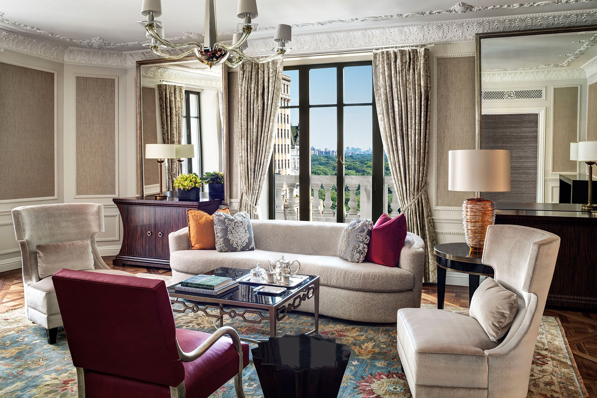 The st regis new york debuts a new era of glamour for New hotel design