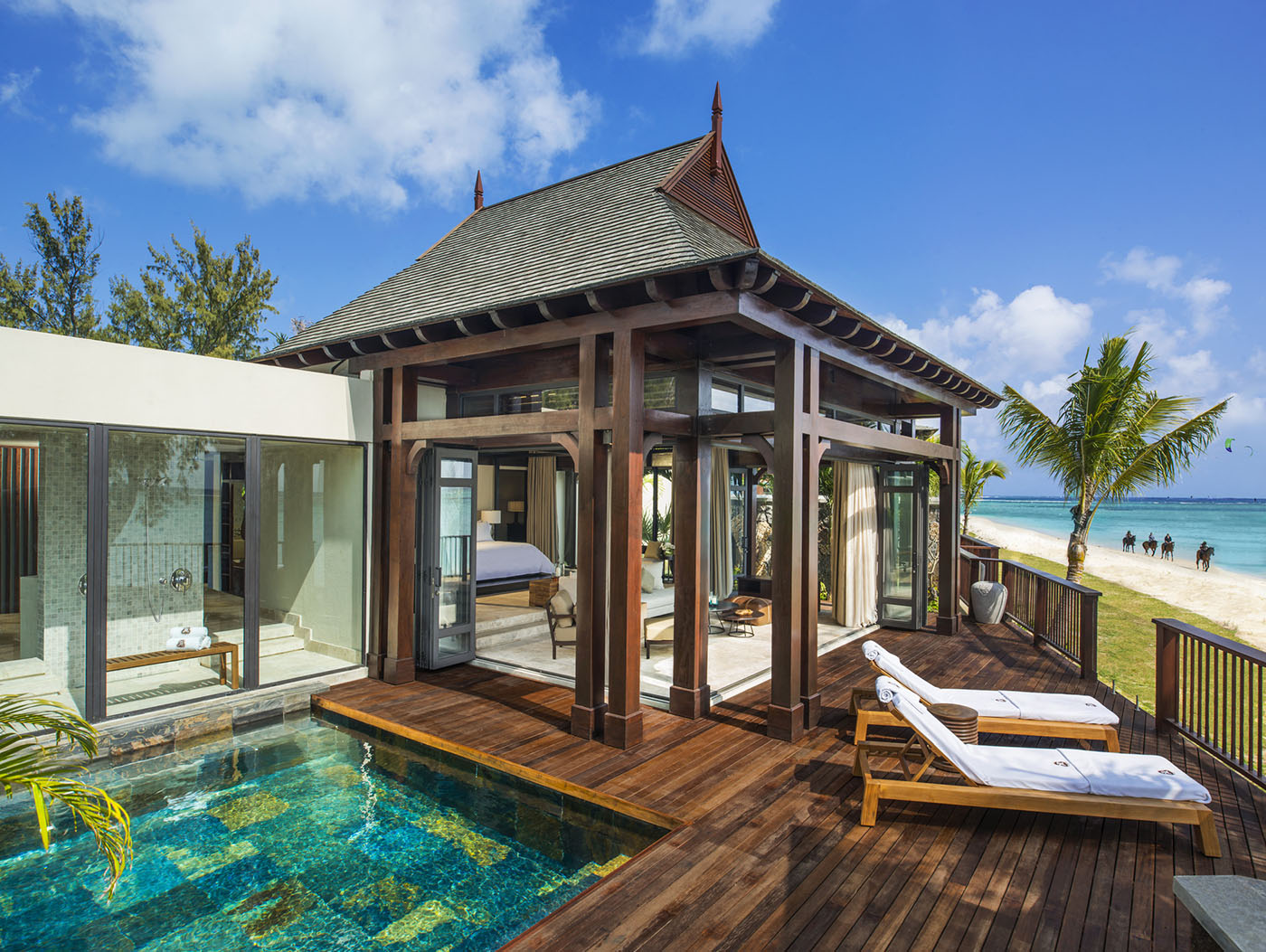 the st. regis mauritius resort unveils the largest and most