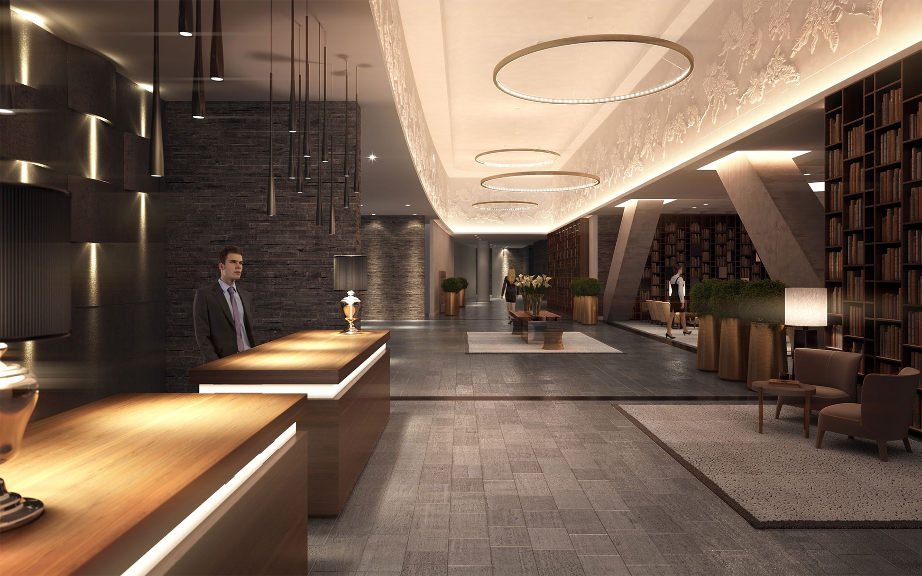 Foyer Hotel : Intercontinental hotels resorts brings stylish luxury