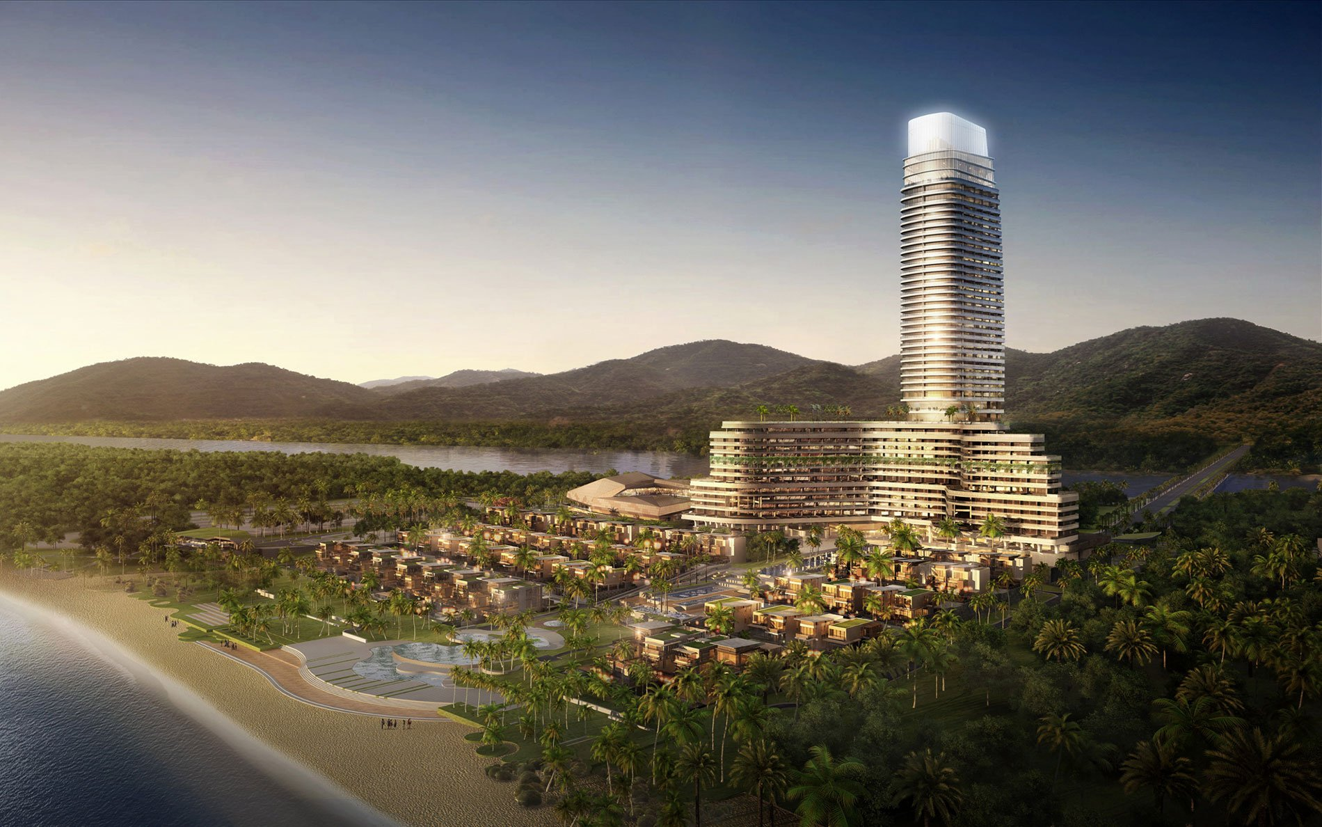 Rosewood sanya to open 2017 as an exclusive sanctuary in for The rosewood